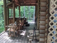 Lazy Hollow Real Log Cabin