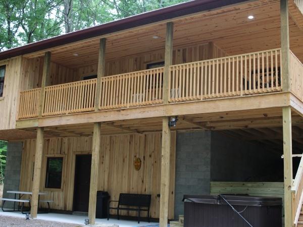 Blue Gill Pond Cabin