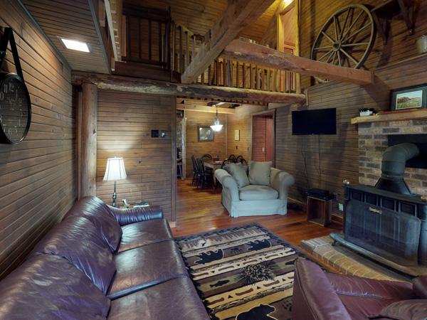 Abundant Peace Log Cabin