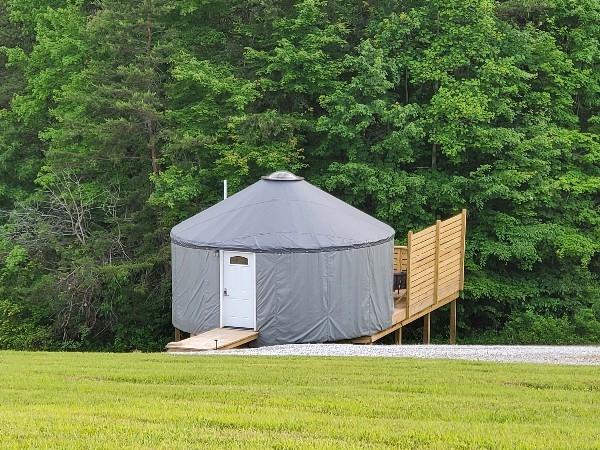 Cardinal Yurt